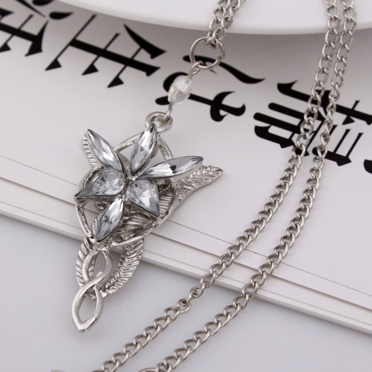 arwen evenstar necklace lord of the rings necklace pendant